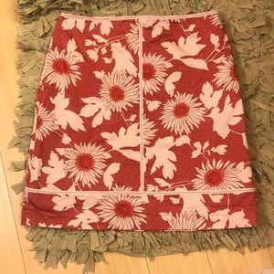 💥Ann Taylor Loft💥 Floral Boho Cotton  Skirt